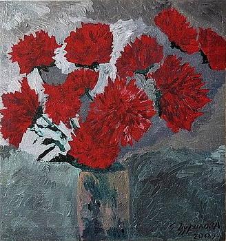 Altay flowers.Asters by Ket Gun