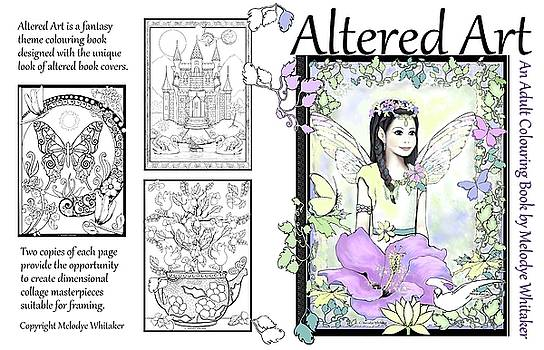 Altered Art Adult Coloring Book by Melodye Whitaker