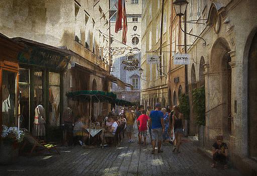 Altstadt, Salzburg by Ron Jones