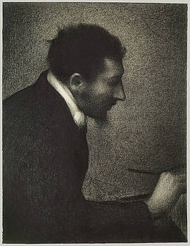 Aman Jean by Georges Seurat