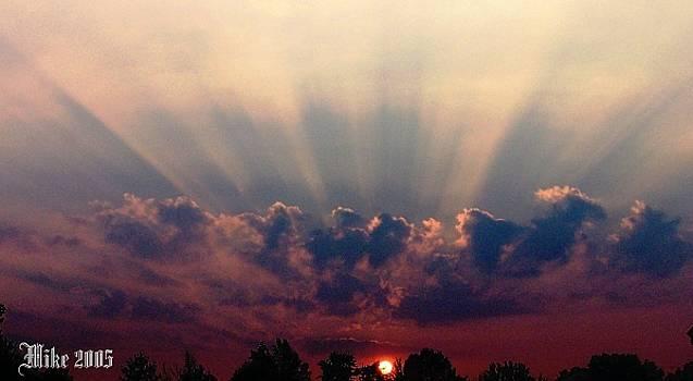 Amazing Sunset by Mike Hazelwood