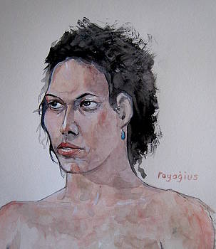 Amber B III by Ray Agius