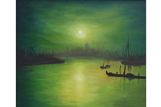 Ambiance - Moonlight by Shankhadeep Bhattacharya