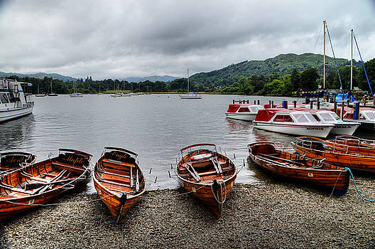 Ambleside Boats by Sarah Couzens