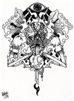 Amen Ra Ra by Mike Hawkins