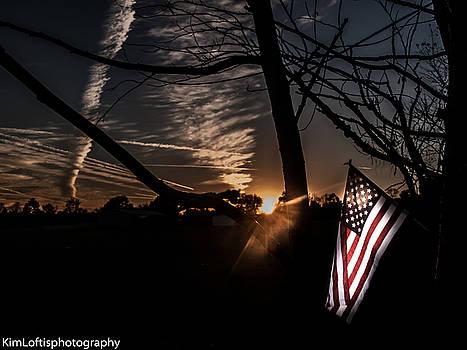 America  by Kim Loftis