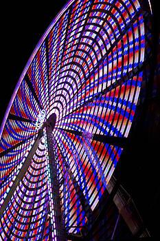 American Ferris Wheel  by Regina  Williams