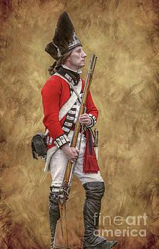 Randy Steele - American Revolution British Soldier II
