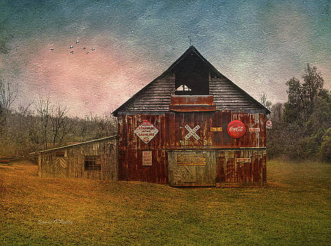 Americana Vintage Barn by Sandi OReilly