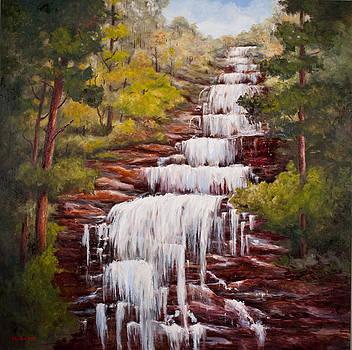 Amicalola Falls by Glenda Cason