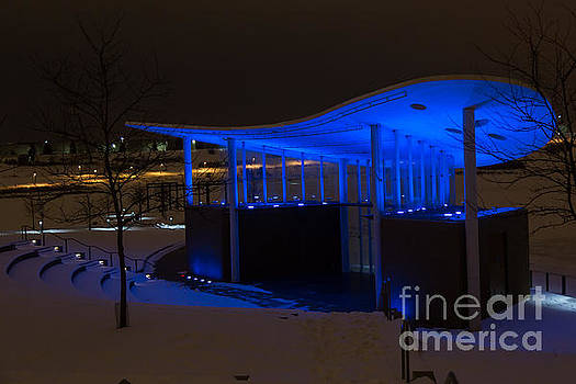 Amphitheater in Blue by Gary Rieks