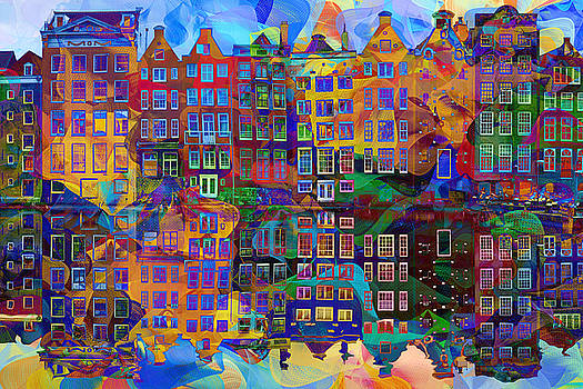 Amsterdam Abstract by Jacky Gerritsen