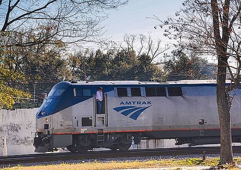 Amtrak by Linda Brown