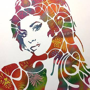 Amy Winehouse Variant 2 by Dean Russo