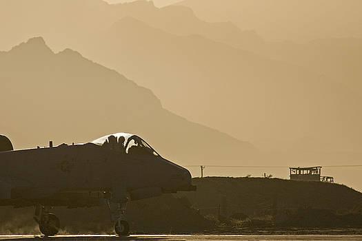 Tim Grams - An A-10 at Sunrise