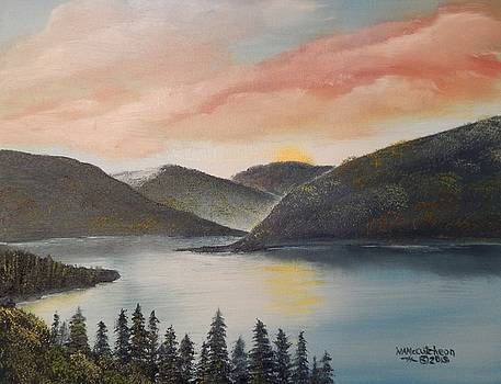 An Adirondack Moment by William McCutcheon