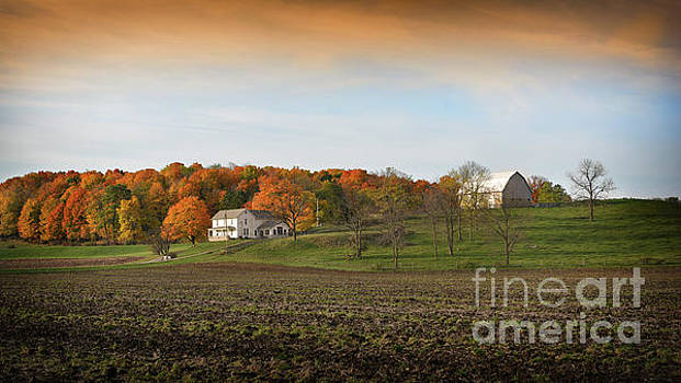 An Autumn Morning On The Farm by Brian Mollenkopf