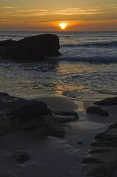 An Evening At The Beach by Sophie De Roumanie