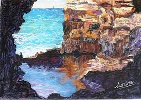 An eye on the Rock by Marieve Ortiz