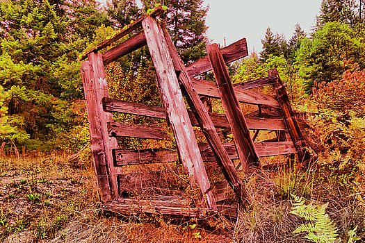 An old loading stall by Jeff Swan