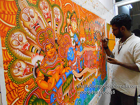 Ananthasayanam by Shaji Kollengode