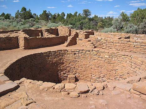 Anasazi Kiva by CGHepburn Scenic Photos