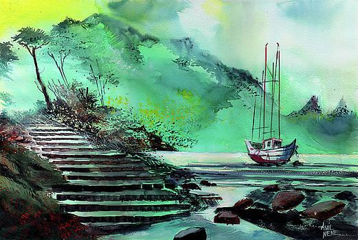 Anchored by Anil Nene