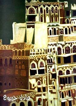 Ancient arabic city 1 by Adel Jarbou