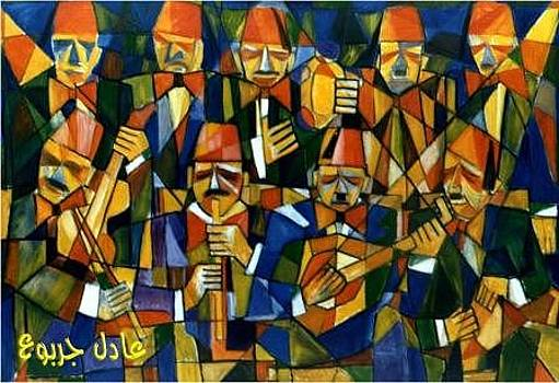 Ancient Arabic Music Band by Adel Jarbou