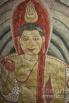Patricia Hofmeester - Ancient Buddha painting in a cave