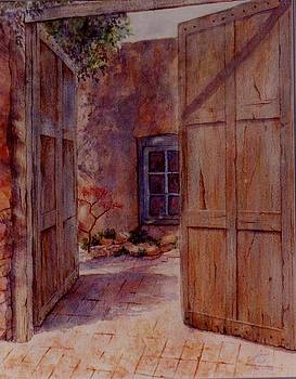 Ancient Doors by Ann Peck