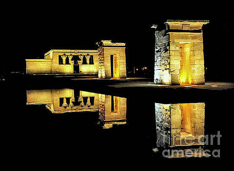 Ancient Egyptian Temple of Debod - Madrid by Yefim Bam