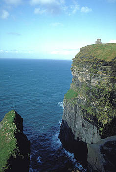 Ancient Fortress on Cliffs of Moher by Carl Purcell