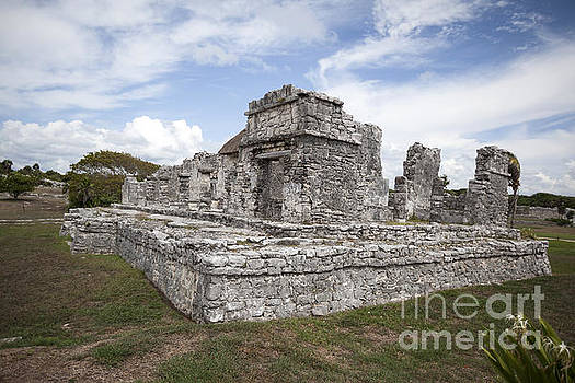 Ancient Mayan House in Tulum Mexico by Brandon Alms