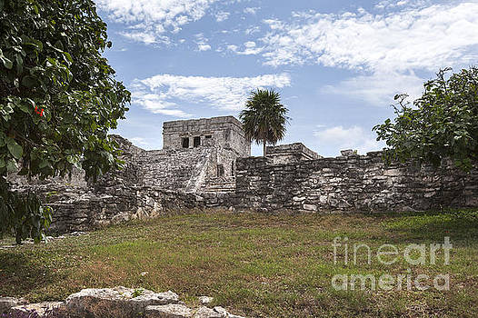 Ancient Mayan Ruins in Tulum Mexico by Brandon Alms