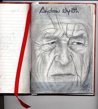 Andrew Wyeth by Patricia Velasquez de Mera