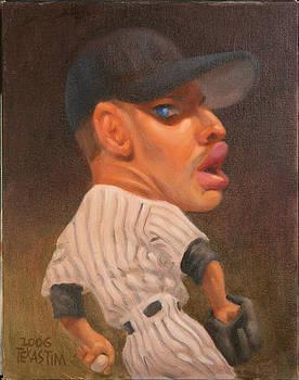 Andy Pettitte by Texas Tim Webb