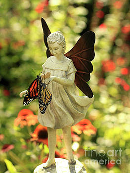 Angel and Butterfly Blessings by Luana K Perez