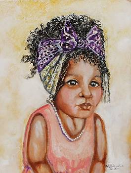 Angel Baby, the painting by Anne Buffington