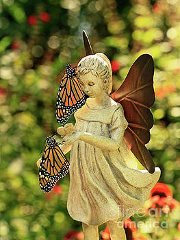 Angel Blessings with Butterflies Photo by Luana K Perez