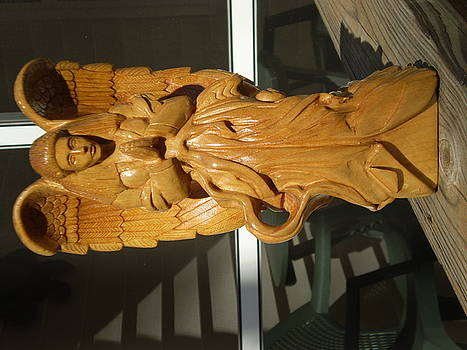 Angel In Prayer  Completed Jan 09 by G Peter Richards
