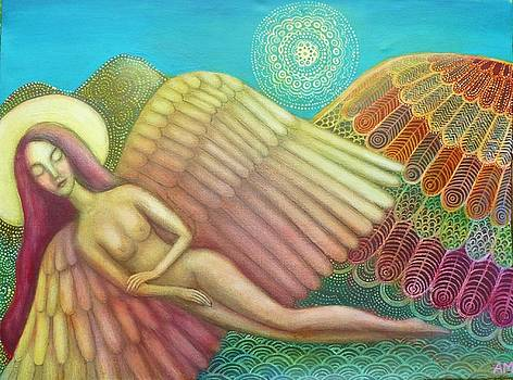 Angel Wing Mountain by Alice Mason