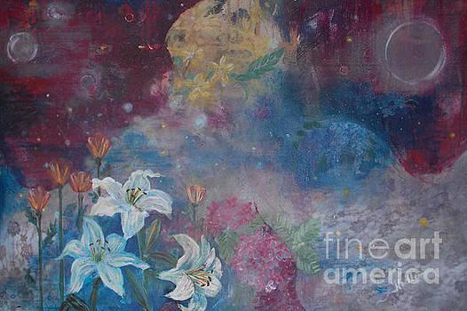 Angelic Garden by Noelle Rollins