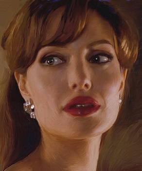 Dominique Amendola - Angelina Jolie