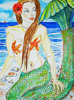Angelina the Mermaid by Kelly     ZumBerge