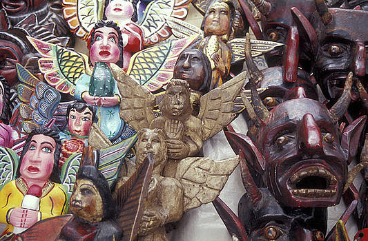 John  Mitchell - ANGELS AND DEVILS Taxco Mexico