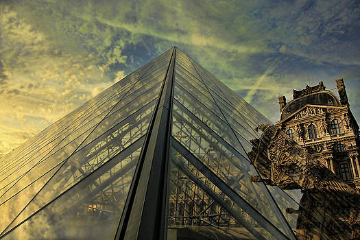 Chuck Kuhn - Angles The Louvre