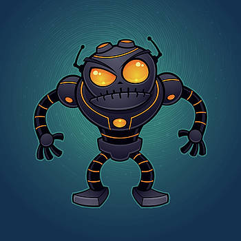 Angry Robot by John Schwegel