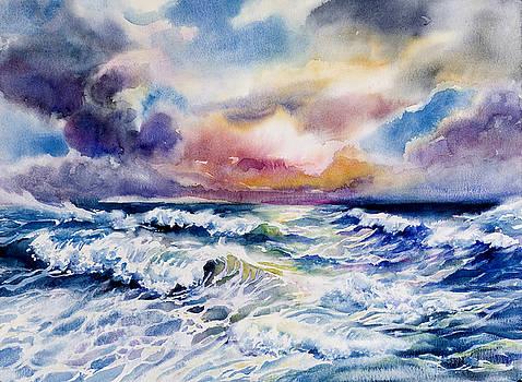 Angry Sea by Jack Tzekov