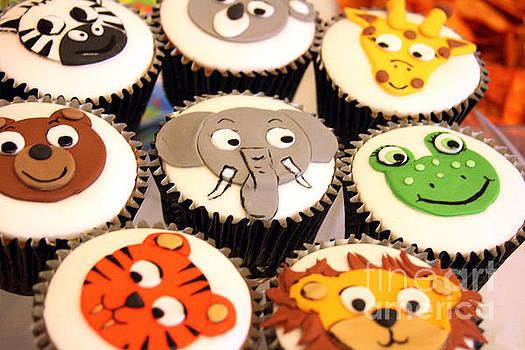 Animal Cupcakes by Doc Braham